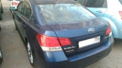 Subaru Legacy 2.5 2012 TR690 — замена на контрактный (б/у) вариатор